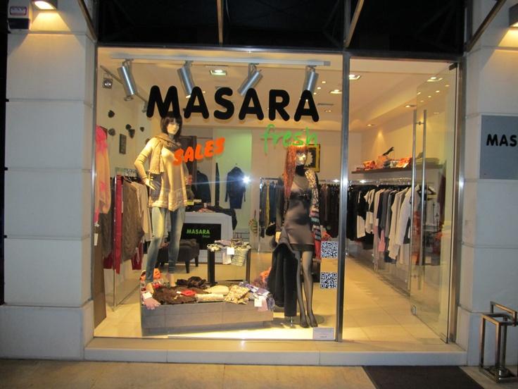 Window shopping MASARA FRESH