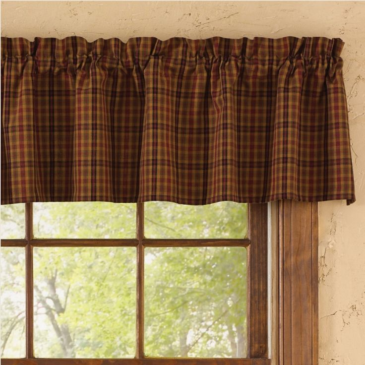 Primitive Spice Valance Country Valance Curtains And