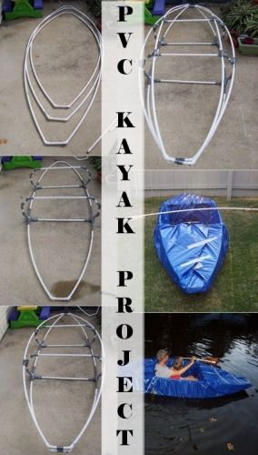 PVC Kayak Project – DIY - I'm fascinated with PVC projects :)