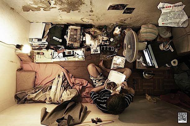 FOTOGRAFIE: Wohnen auf engstem Raum - KlonBlog