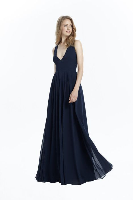Kate (450459) dress (Slim A-Line, V-Neck, Straps,  Sleeveless ) from  Monique Lhuillier : Bridesmaids 2017, as seen on dressfinder.ca. Click for Similar & for Store Locator.