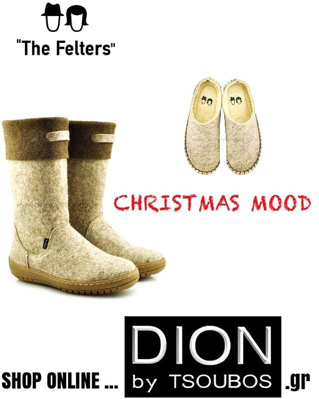 The Felters boots and slippers