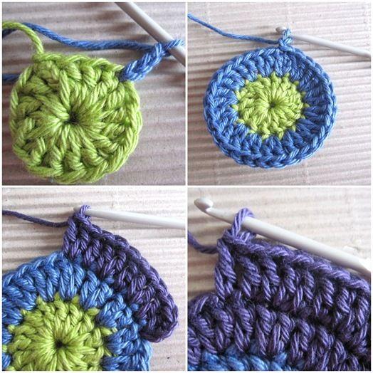 Um blog sobre crochê, barbante tapetes, aulas de crochê, pap, passo a passo, Video aula