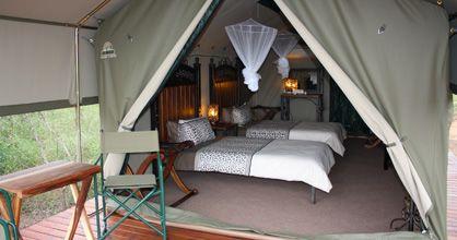 Tent at Tydon Safari Camp