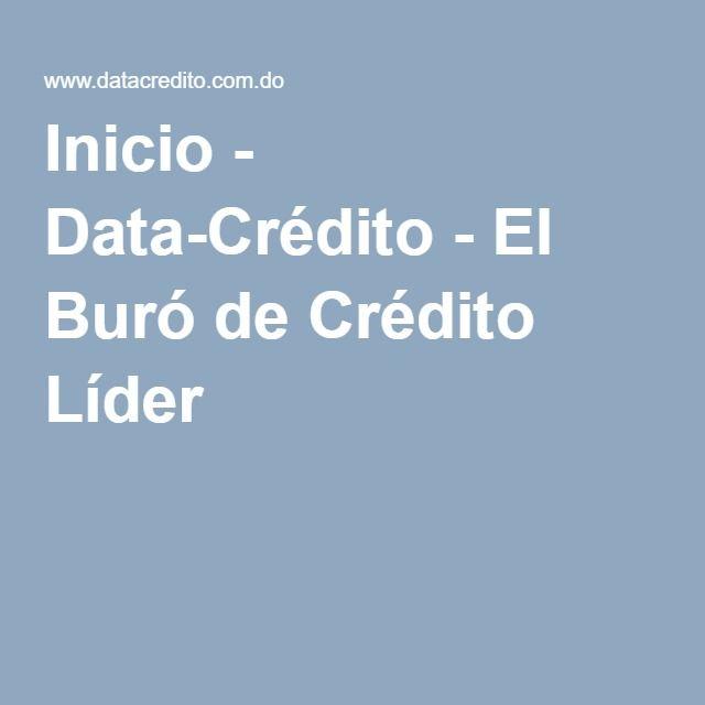 Inicio - Data-Crédito - El Buró de Crédito Líder