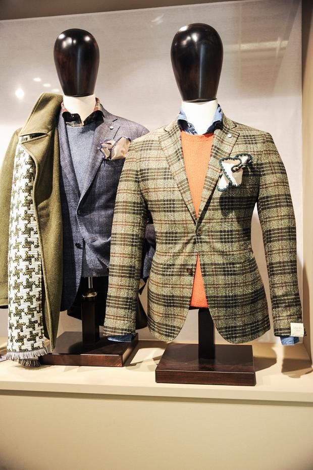 View all the look book pictures from the L.B.M 1911 men's autumn (fall) / winter 2015 collection at Pitti Uomo. Read the article to see the full gallery.