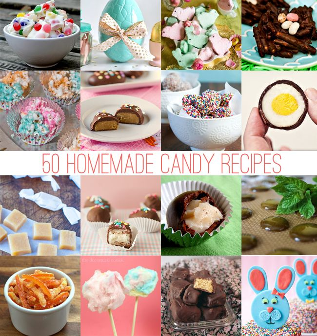 50 homemade candy ideas for easter and beyong