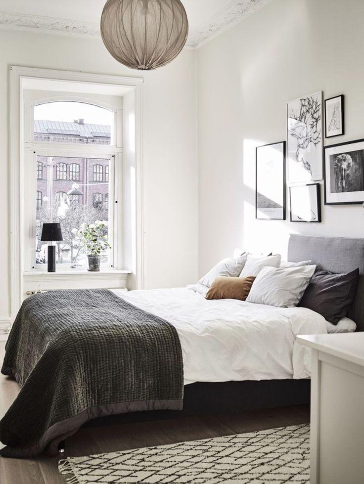 Amazing 46 Modern and Stylist Scandinavian Bedroom Decor https://homadein.com/2017/06/16/46-modern-stylist-scandinavian-bedroom-decor/