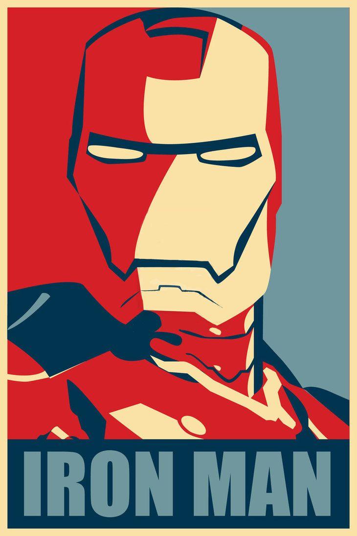 Iron Man Hope Framed Poster