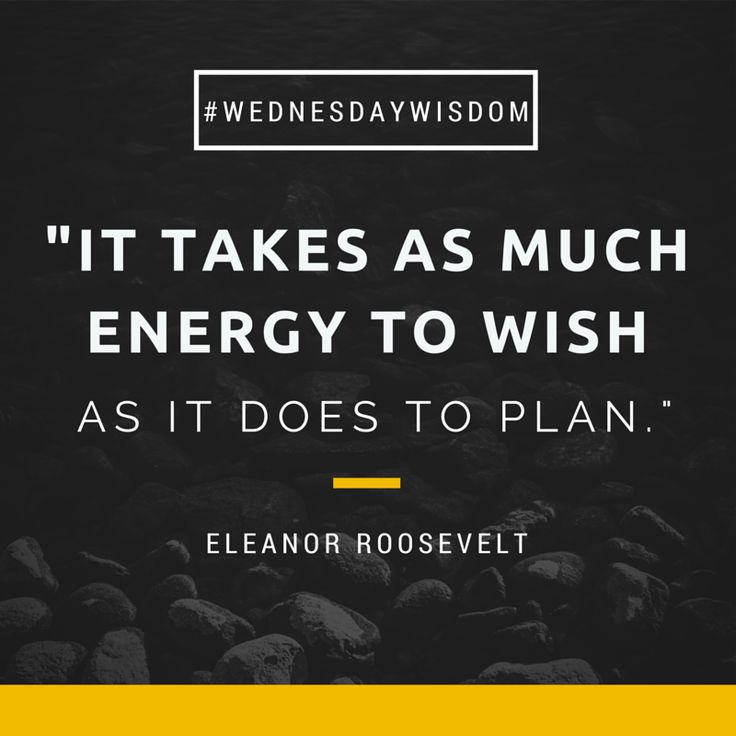 Some #WednesdayWisdom from former First Lady, Eleanor Roosevelt.
