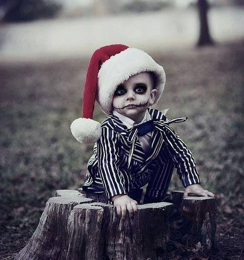 Nightmare Before Christmas kids costume!