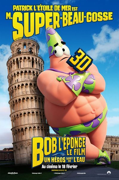 Bob l'éponge un héros sort de l'eau - Le 18/02/15 à #Kinepolis >> http://kinepolis.fr/films/bob-leponge-le-film-un-heros-sort-de-leau?utm_source=pinterest&utm_medium=social&utm_campaign=bobleponge#showtimes