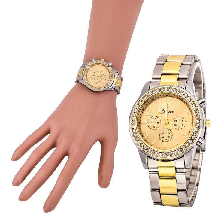 $2.65 (Buy here: https://alitems.com/g/1e8d114494ebda23ff8b16525dc3e8/?i=5&ulp=https%3A%2F%2Fwww.aliexpress.com%2Fitem%2FWomen-Men-Geneva-Watches-Luxury-Brand-Faux-Chronograph-Quartz-Watch-Ladies-Women-Crystal-Watch-Bracelet-Relogio%2F32734144963.html ) Women Men Geneva Watches Luxury Brand Faux Chronograph Quartz Watch Ladies Women Crystal Watch Bracelet Relogio Reloj Clock for just $2.65