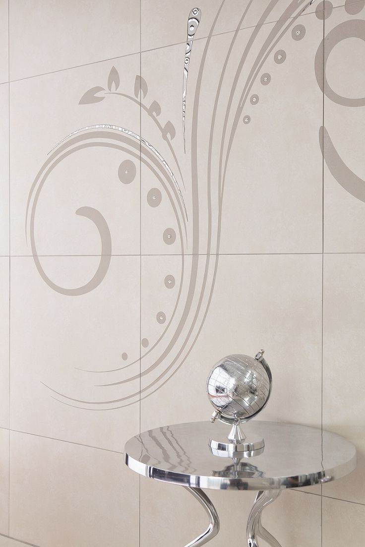 Design your own #tiles with water jet technology that cuts your one-of-a-kind motif into tiles