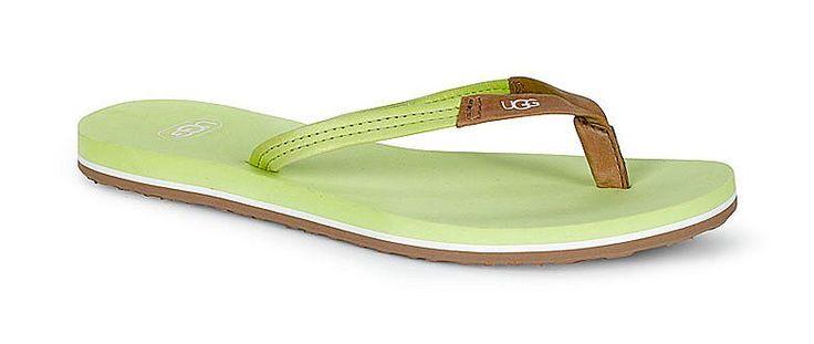 Produkttyp , Sandale, |Schuhhöhe , Sandale, |Materialzusammensetzung , Obermaterial: 100% Leder. Decksohle: 100% Leder. Laufsohle: 100% Gummi, |Farbe , Kiwi, |Herstellerfarbbezeichnung , sunshine lime, |Obermaterial , Leder, |Verschlussart , Zehensteg, |Laufsohle , Gummi, | ...
