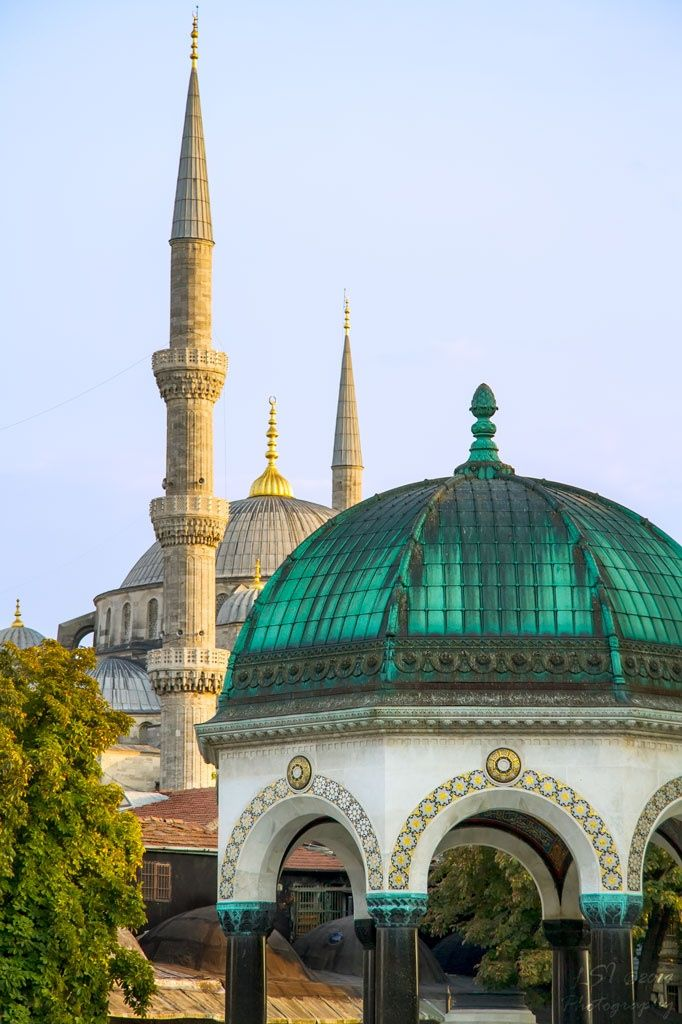 Historical Beauty( Blue Mosque And The German Fountain, Istanbul, Turkey )..by Kuzeytac LSI