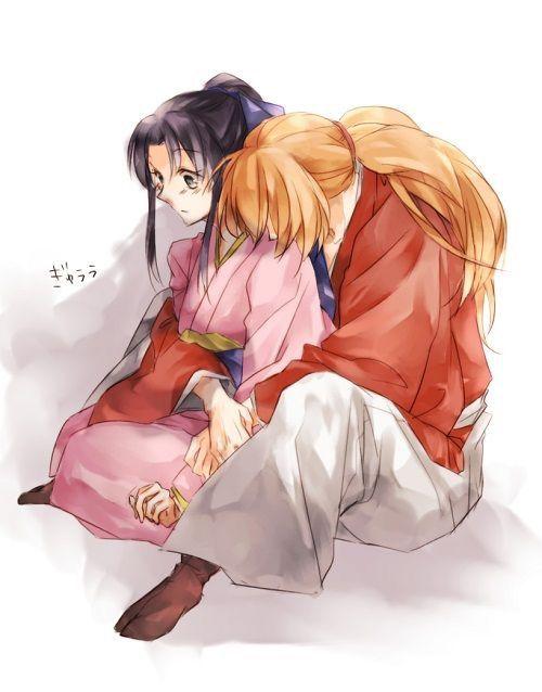 Kenshin & Kaoru.
