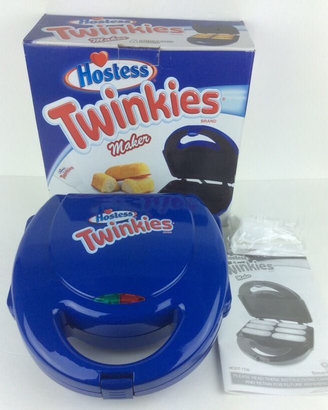 NEW Hostess Twinkies Maker In Box Recipes Pastry Bag Tips Bake Your Own MI175 #Hostess
