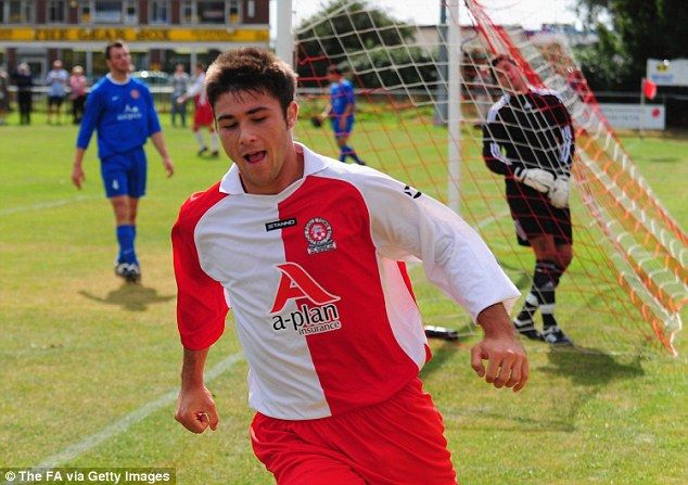 Austin has come a long way since his non-League days when he turned out for Poole Town