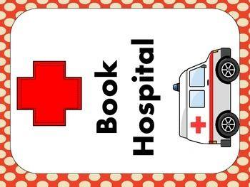 Are the books in your classroom well loved? Are some in need of some repair.  Use this freebie to set up a book hospital where students can place books that need a little TLC.