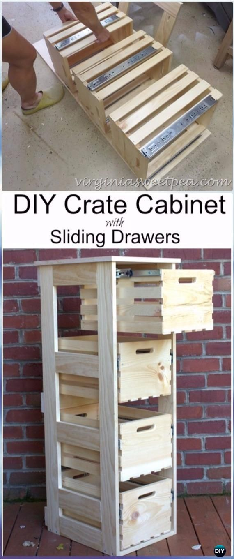best 25 wood crate furniture ideas on pinterest wooden. Black Bedroom Furniture Sets. Home Design Ideas