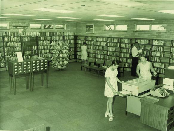 Penshurst Branch Library, Penshurst NSW, ca 1974