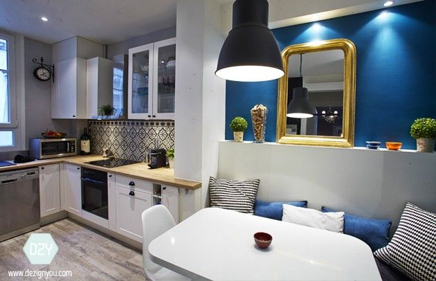 Cuisine & salle de bain rénovées – Appartement Haussmannien Paris XVII