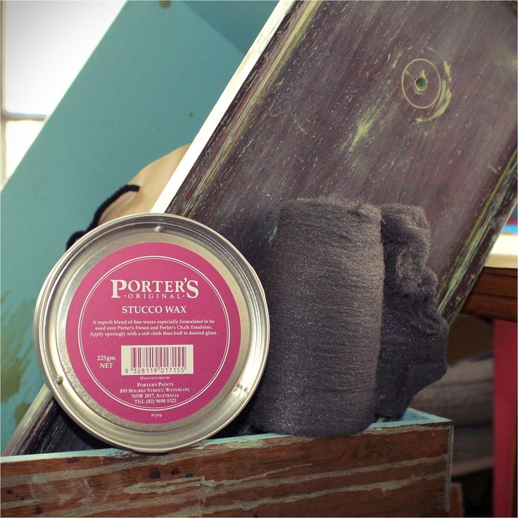 For the craftsmen who protect their craft, Porter's Paints Stucco Wax is now available in a handy 225g size! Perfect for the weekend project we are already thinking about