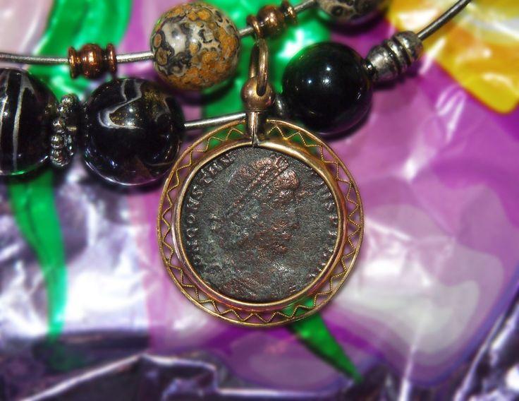 "Старинный КУЛОН ""Римская монета"" Европа."