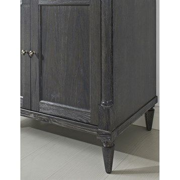 """Fairmont Designs Rustic Chic 36"""" Vanity for Integrated Top - Silvered Oak   Free Shipping"""