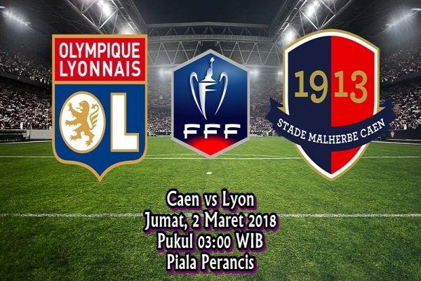 Ulasan Sepakbola SM Caen vs Olympique Lyon 2 Maret 2018 - Dari ajang Coupe de France akan dilangsungkan pertandingan menarik antara Oly...