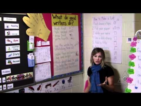 Writer's Workshop: Modeling and Guiding the Writing Process in Kindergarten (Virtual Tour)