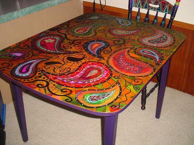 Bohemian Dining Room Chairs