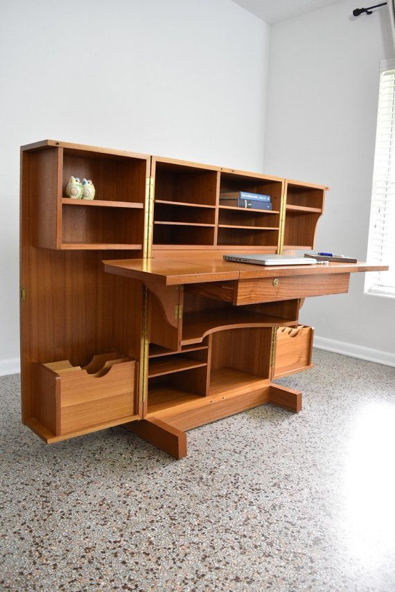 A Graphic Light Box And A Mid Century Dresser Turning The: 1000+ Ideas About Secretary Desks On Pinterest