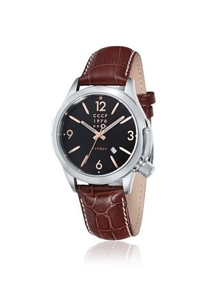 76% OFF CCCP Men's CP-7010-03 Shchuka Brown/Black Watch