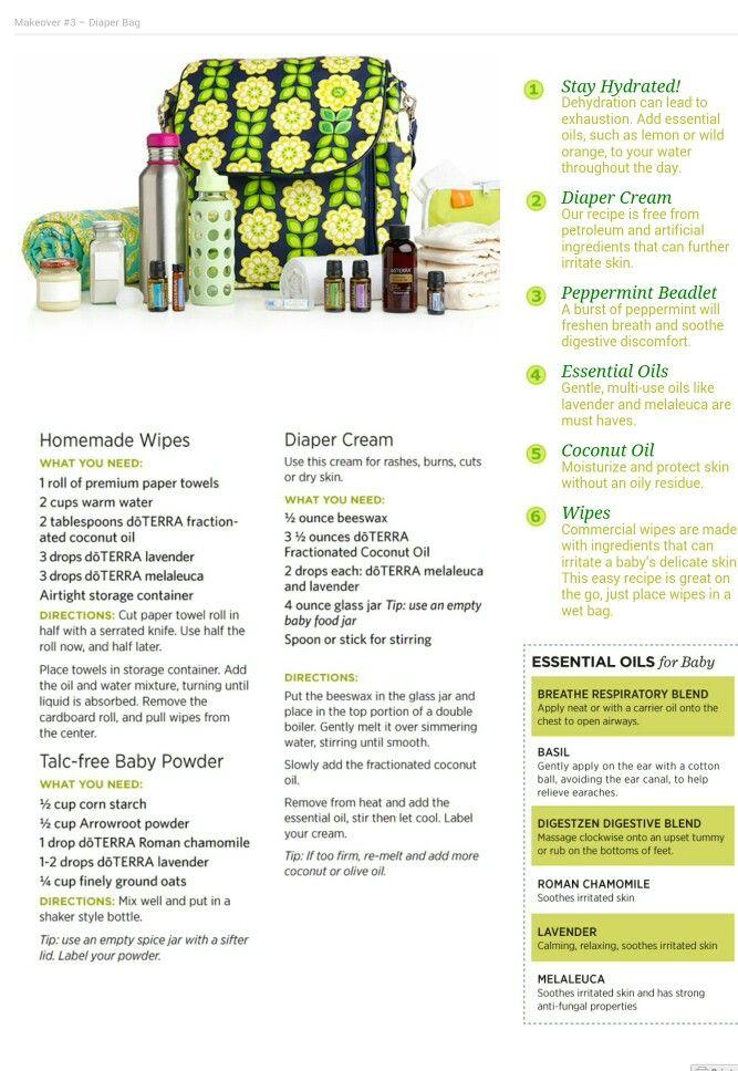 Makeover Essentials Makeup Reviews: Diaper Bag Makeover #thedailydoterra Www.mydoterra.com