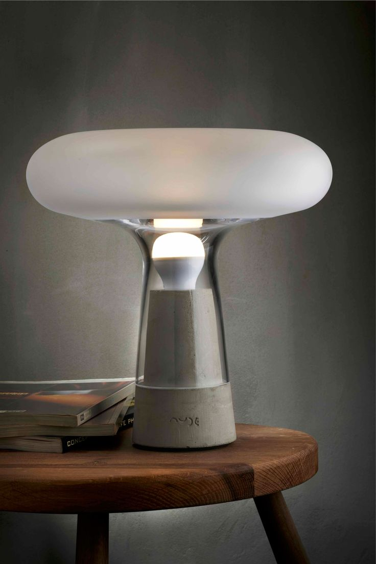 Orion - Night Light (Concrete)  #nude #lighting #living #home