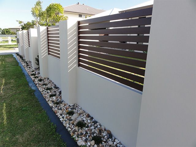 Knotwood Low Maintenance Wood Look Aluminium Fencing House Fence Design Fence Design Modern Fence Design