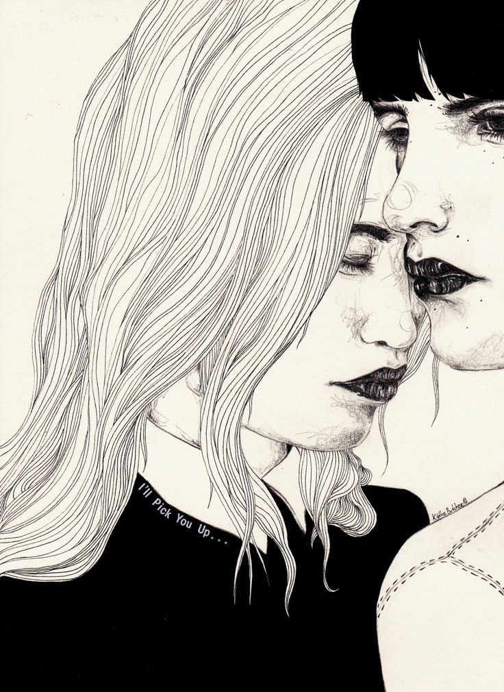 When You're Getting Down by ©Kaethe Butcher