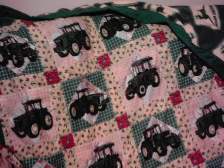 26 Best John Deere Quilts Images On Pinterest Sewing