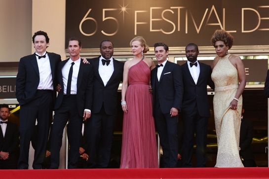 The cast of Lee Daniels new movie,The Paperboy at The Cannes Film Festival.