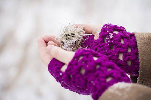 Noemidarceky / Violet - rukavice