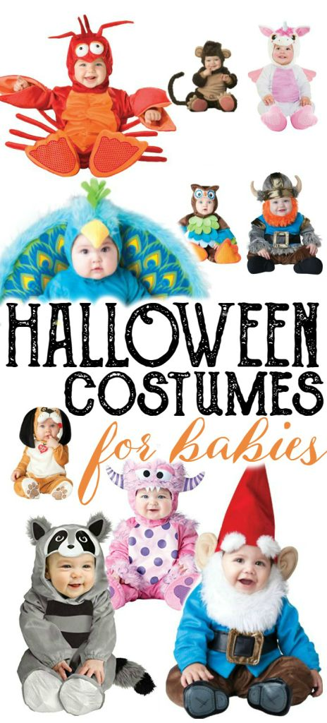 The most ADORABLE Halloween costumes for babies! Whether you have a baby boy or…