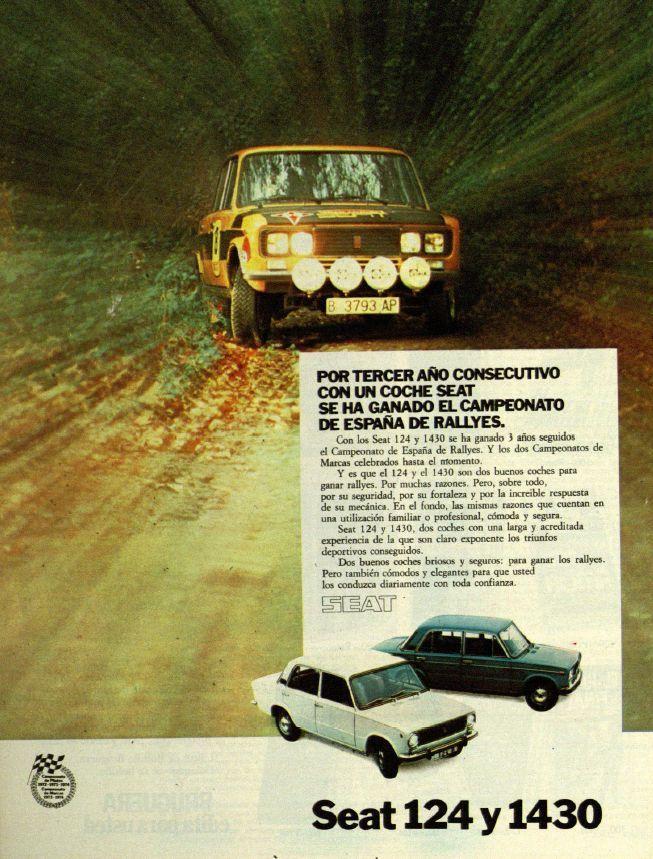 Seat 124 y 1430. Año 1974