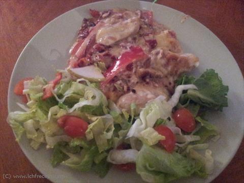 LCHF Recept: Kyckling med fetaost och soltorkade tomater | LCHF Recept.com