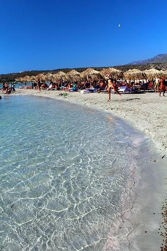 my favorite picture I took of Elafonisi beach in Crete