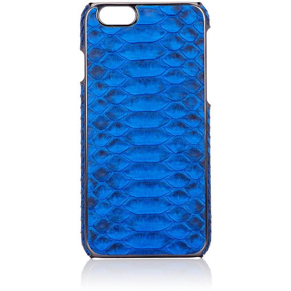 Adopted Men's Python iPhone® 6 Case ($175) ❤ liked on Polyvore featuring men's fashion, men's accessories, men's tech accessories and blue