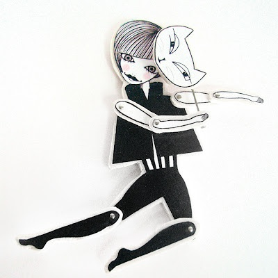 Articulated brooch collection Dolls Room