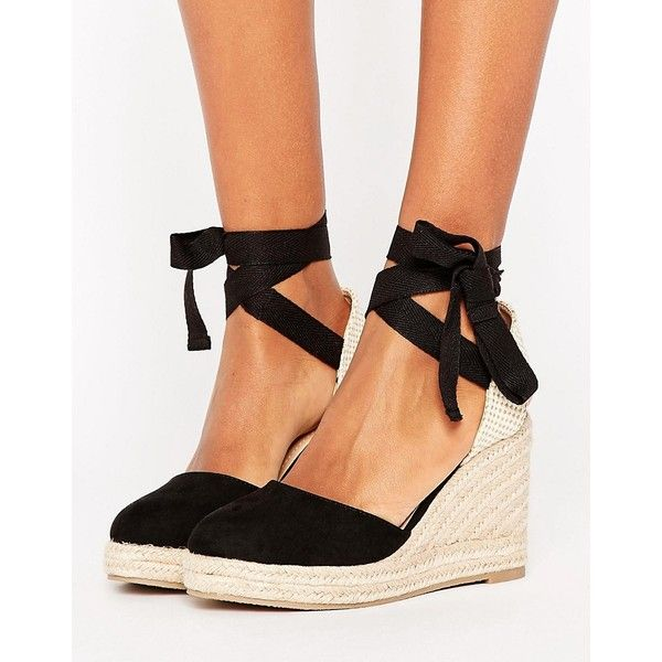 Pimkie Espadrille Wedge Sandal (€35) ❤ liked on Polyvore featuring shoes and sandals