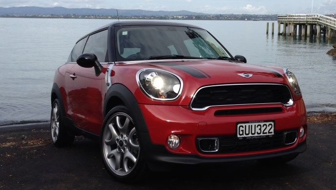 Endless iterations of essentially the same car. The Mini Cooper Paceman is OK, but needs some rework to modernise it